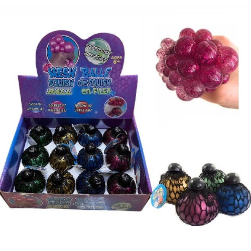 Color Morph Mesh Ball Squishy Squeeze Stress Ball The Toy Network 3.50 My Sensory Tools