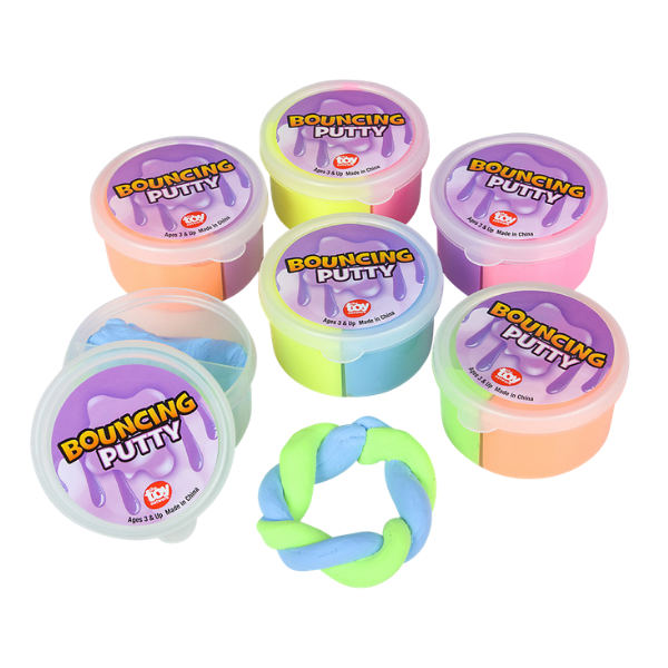 Pocket size two color bounce putty My Sensory Tools