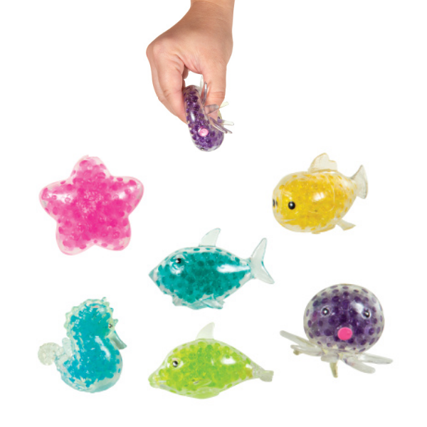 Sea Life Squeezy Ball  Geddes 1.50 My Sensory Tools