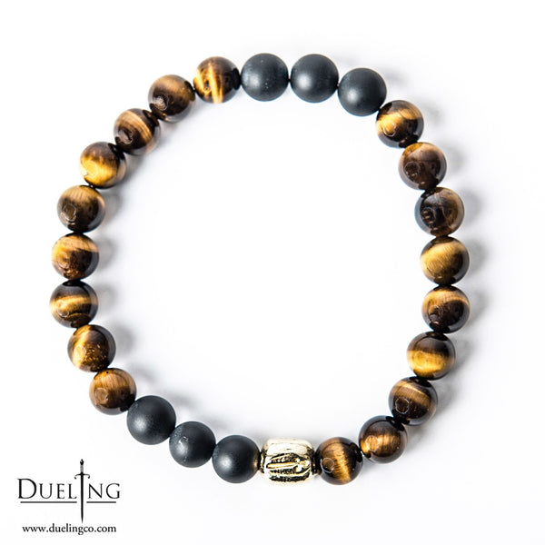 Tiger Eye Matte Black Onyx