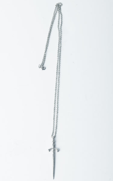 Sterling Silver Sword Necklace