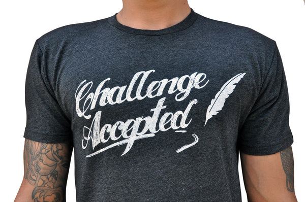 Challenge Accepted Black Shirt
