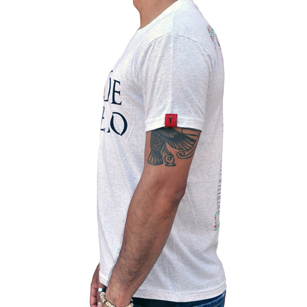 Code Duello Vintage Heather White T-Shirt