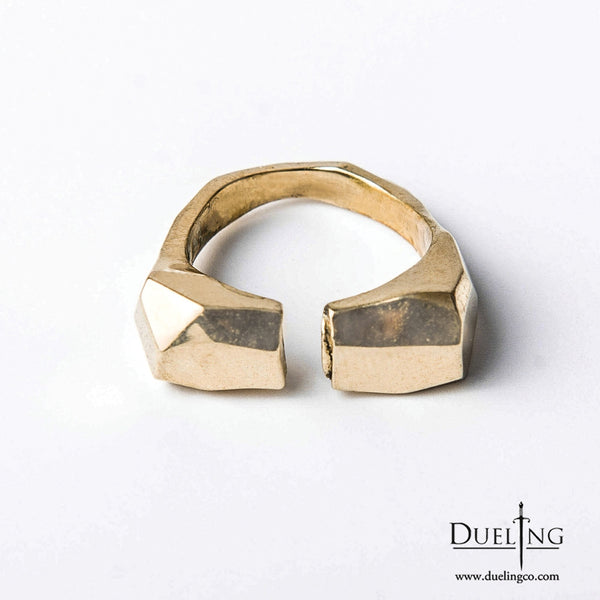 Gold Adjustable Ring