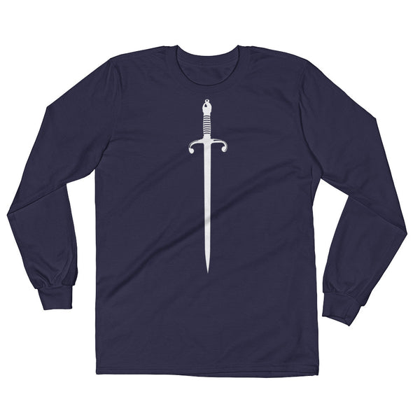 Sword Long Sleeve Tee Shirt - 3 Colors