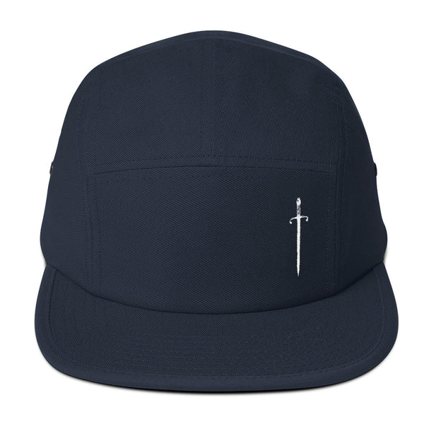 Navy Blue five Panel Cap