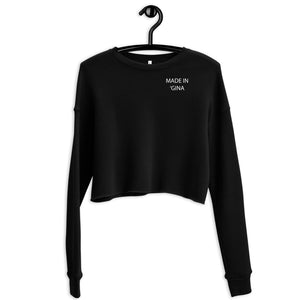 Crop Sweatshirt - Made in 'Gina