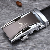 Genuine Luxury Leather Belts for Men with Metal Buckle