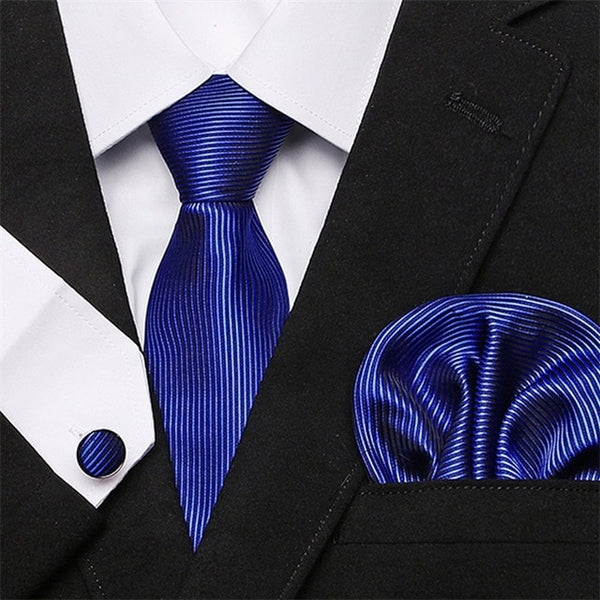 Classic Luxury Men's Silk Ties For Men (35 Variants)