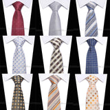 Men Luxury Silk Ties (46 Variants)