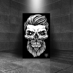 Brutal Beard Skull Canvas - 83
