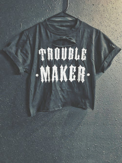 Trouble Maker Crop Top - 500