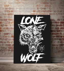 Lone Wolf Canvas - 82