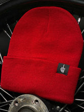 Load image into Gallery viewer, 586 - FU Red Beanie