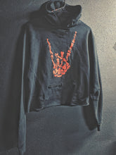 Load image into Gallery viewer, 147 - Red Regret Hoodie Crop Top