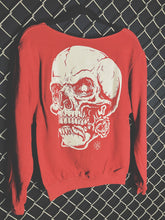 Load image into Gallery viewer, 130 - Dead Roses Wide Neck Hoodie