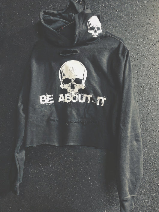 7- About It Crop Hoodie