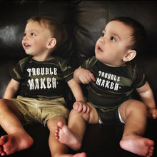 Load image into Gallery viewer, 217 - Trouble Maker Onesie