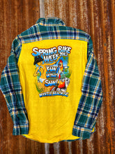 Load image into Gallery viewer, Spring Break Flannel- K25 MEDIUM