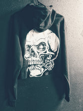 Load image into Gallery viewer, 124- Dead Rose Crop Hoodie