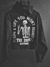 Load image into Gallery viewer, 158 - Regret Crop Hoodie