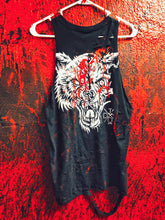 Load image into Gallery viewer, 35- Blood Lone Wolf Tank Top
