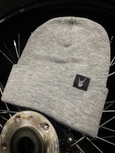 Load image into Gallery viewer, 599 - Rocker Grey Beanie