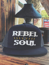 Load image into Gallery viewer, 552 - Rebel Flatbill SnapBack