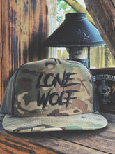 Load image into Gallery viewer, 512 - Lone Wolf Hat