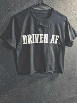 Driven Af Crop Top - 600/Crop