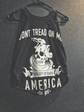 Load image into Gallery viewer, 109- Don't Tread Crop Tank Top