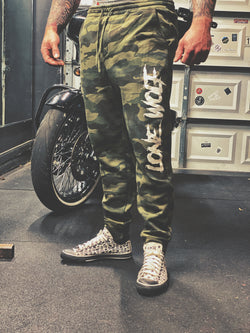 Lone Wolf Unisex Joggers - Camo - 7001