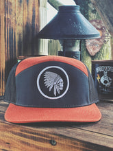 Load image into Gallery viewer, 545 - Apache 7 Panel SnapBack - Flat Bill