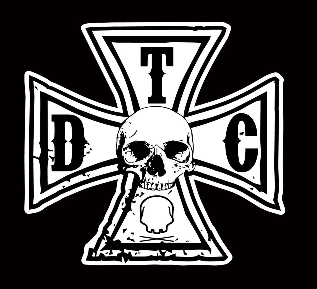 315 - Iron TDC Cross Decal