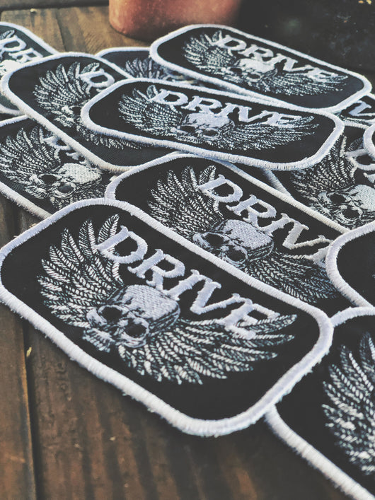 Driven Wings Patch