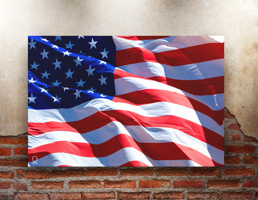 USA Flag Canvas - 85