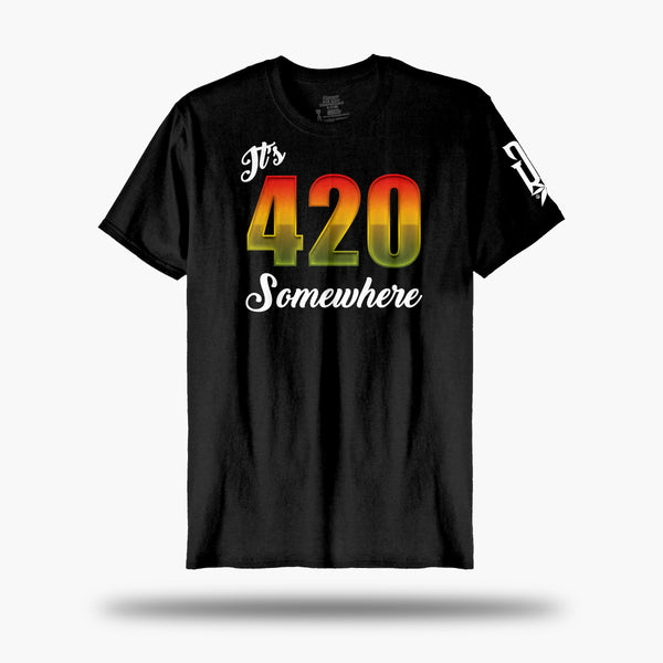 It's 420 Somewhere Tee