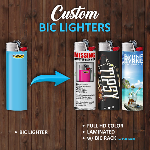 10 Custom Lighters