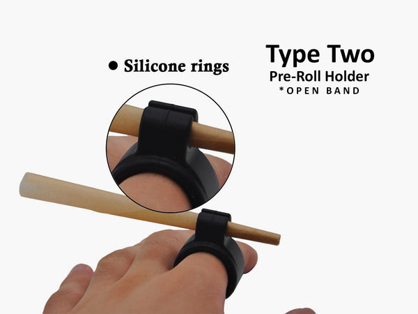 Cigarette/Pre-Roll Holder Ring (2 types available)