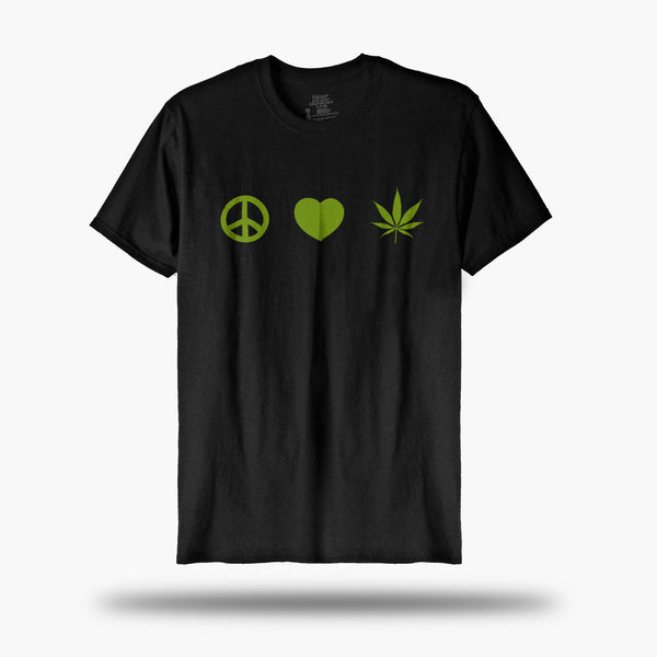 Peace, Love, Cannabis Tee