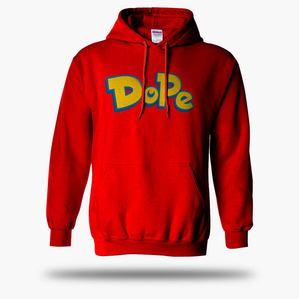 Dope Sweatshirt w/ Hood & Pocket (Pokemon Go Inspired)