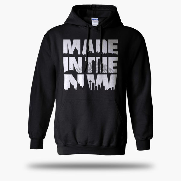 Made In The NW Sweatshirt w/ Hood & Pocket