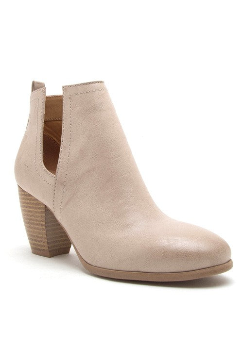 Dillon - Cut Out Booties