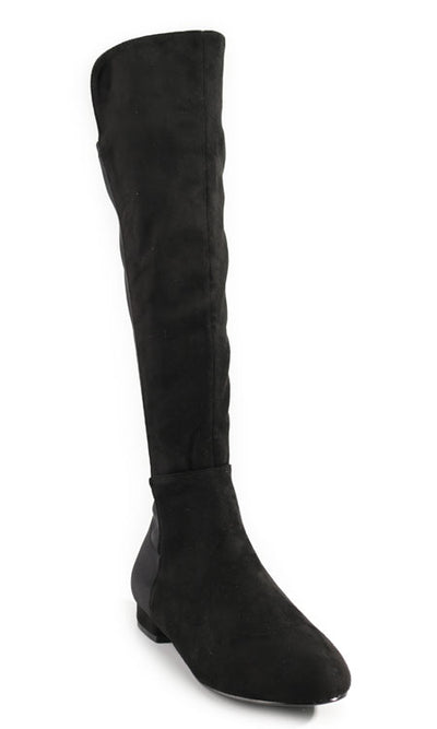Women's Black Stretch Boots | Smith & Angie Boutique