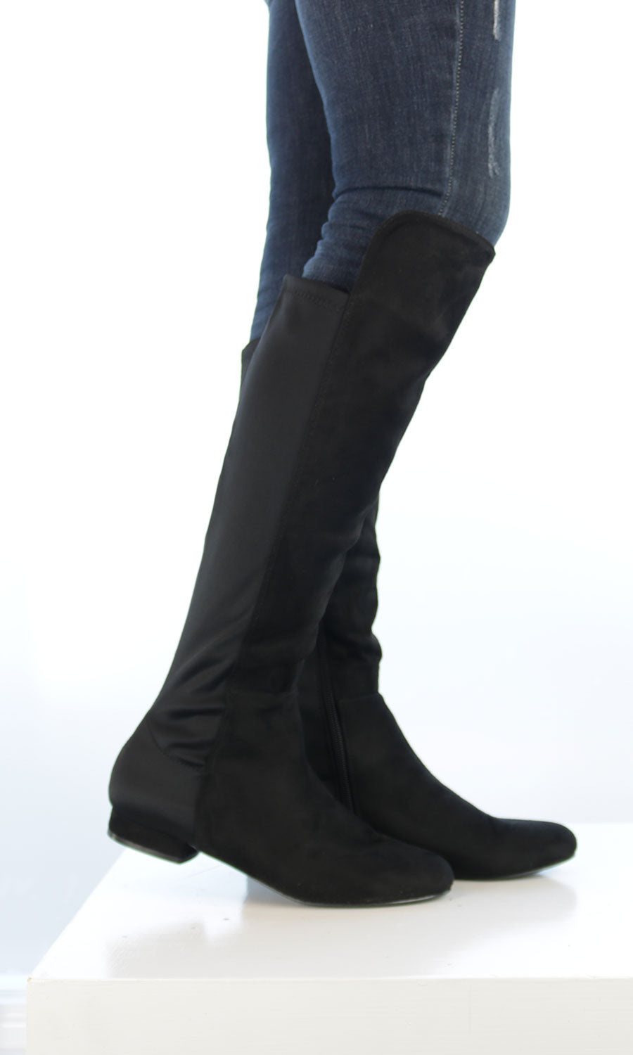 Chalice - Knee High Stretch Boots