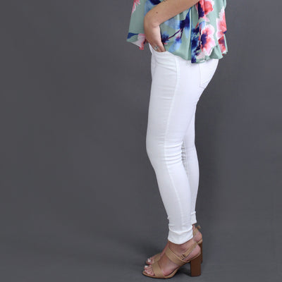 Women's White Denim Jeans - Smith & Angie Boutique