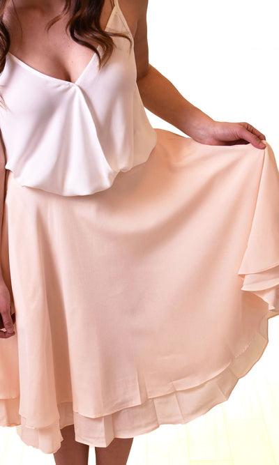 Women's White A-Line Skirt - Smith & Angie Boutique