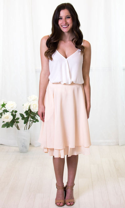 Bradshaw - A-Line Skirt with Pockets