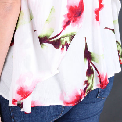Belisa - Sleeveless Floral Top