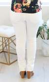 Monroe - White Skinny Pants